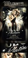 Club Platinum PSD Flyer Template Preview Image by yAniv-k