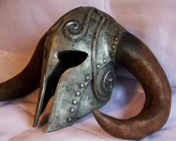 Skyrim Ancient Nord Helmet by kwalsh000