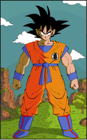 Son Goku by eggmanrules
