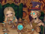 Alice and the Mad Hatter by jasminetoad