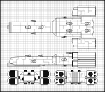 Timberwolf destroyer schematic by OregonSamurai