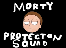 Morty Protection Squad by Cupcake-Angels