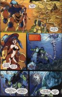 RoboDojo Issue 2 Page 5 Color by glane21