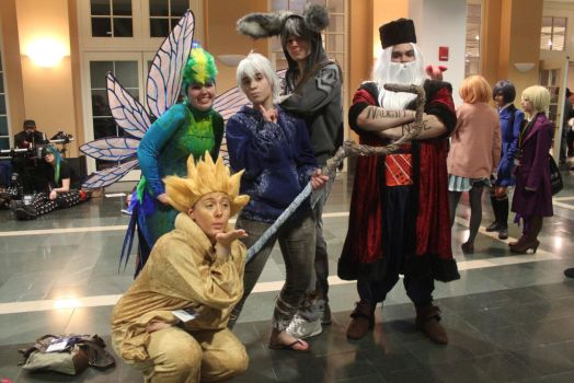 Rise of the Guardians Group! by WeLiveToCosplay