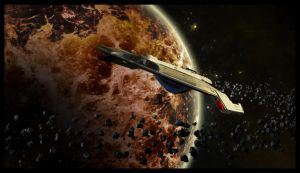 Uss Teager - NCC 61948 by MotoTsume