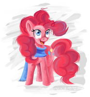 MLP::Pinkie Paint by Koshi-Doshi