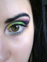 Electronic Eye by AgoraMAKEUPArtist