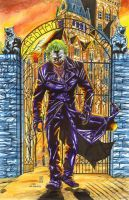 Joker recreation after Lee Bermejo by warpath28