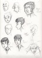 JSMN: character sketches 7 by Agatha-Macpie