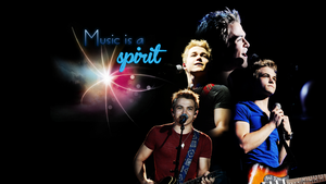 Music Is A Spirit - Wallpaper by myfremioneheart