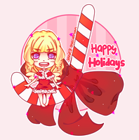 XMas Candy Cane by ayeCurryan