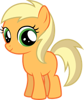 Young Applejack by Thumper314