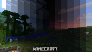 Minecraft Day/Night Cycle by maxiesnax
