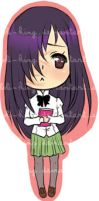 Katawa Shoujo - Hanako Sticker by Loli-King