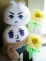 Russia and Belarus Mochis by Rainbowbubbles