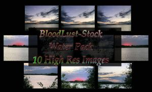 Water Pack by bloodlust-stock