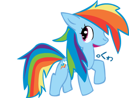 Rainbow Dash doodle 2 by clyvore