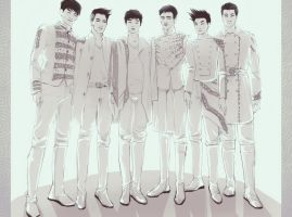 Legend of 2PM by Oriental-Lady