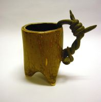 Barbedwire Mug 01 by CreativelyStrange
