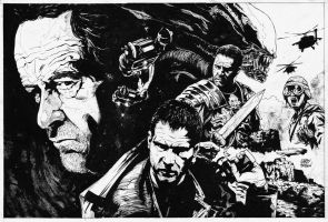 Ridley Scott INKS by thisismyboomstick