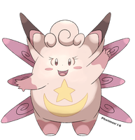 Mega Clefable by Phatmon