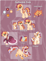 MLP OC: Autumn Eve Reference by leKelBel