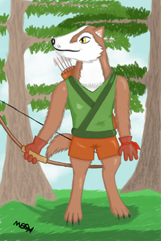 Wolfward the Archer Remake by Mira55X
