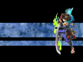 Muramasa Demon Blade Wallpaper by Icyfrodo