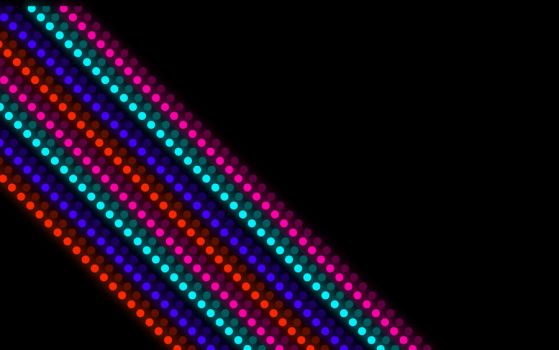 Glowing Dotted Stripe's by carmo92