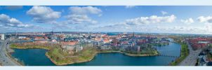 Copenhagen - Panorama by WorldsInWorld