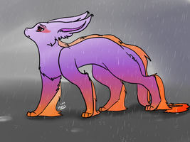 i can't stop the rain... by xBadgerclaw