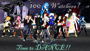 Youtube video: 100 Watcher Dance by MadNimrod