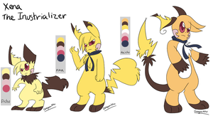 Xena the Industrializer Ref by Dragonikku