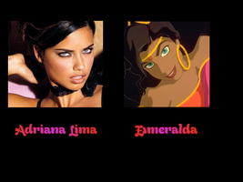 Esmeralda - Adriana Lima by FalseDisposition
