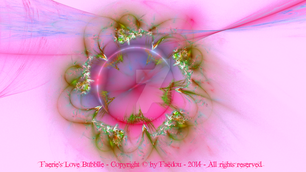 Faerie's Love Bubble (pink version) by Faedou