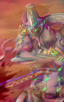 Space Mummy.png by Schizoideh