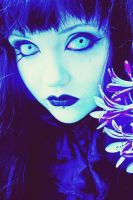 .blue orchid. by bloodymarie
