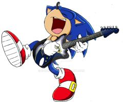Sonic play Guitar by S-concept