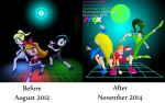 PPGX Before After by Keytee-chan