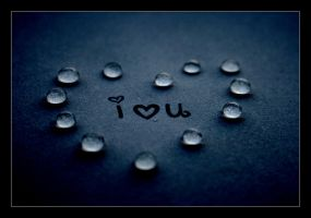 I love u drops by C-Natalie