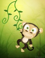 Just a Random Monkey by KellerAC