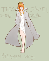 My Jacket by SpartanGinger