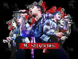 M. Shadows wallpaper by AdrienneTyler
