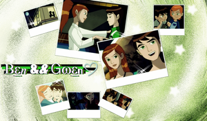 Ben10 - Ben+Gwen Wallpaper by lemonwhogirl
