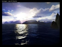 terragen - sea of dreams by tigaer