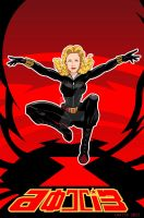 Dottie the Black Widow by VectorAttila