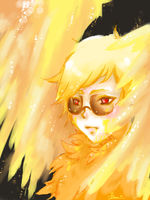 Burning wings by Alice-Heartless