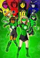 "Green Lantern ""FEMALE VERSION"" by huatist"