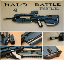 Halo 4 Battle Rifle by Sephiroths-Shadow