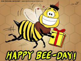 Happy Bee Day by sidan